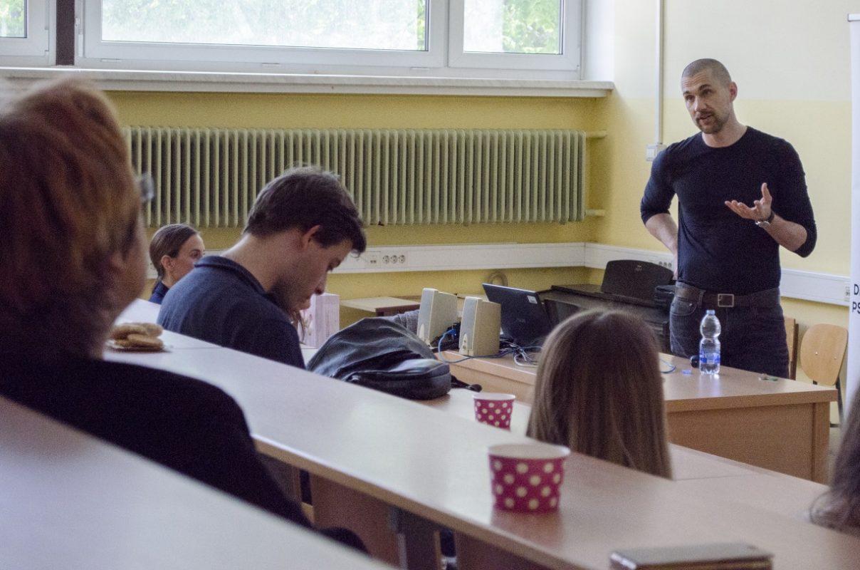 Stres med predavanji ni bil prisoten.