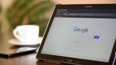 Google na tablici