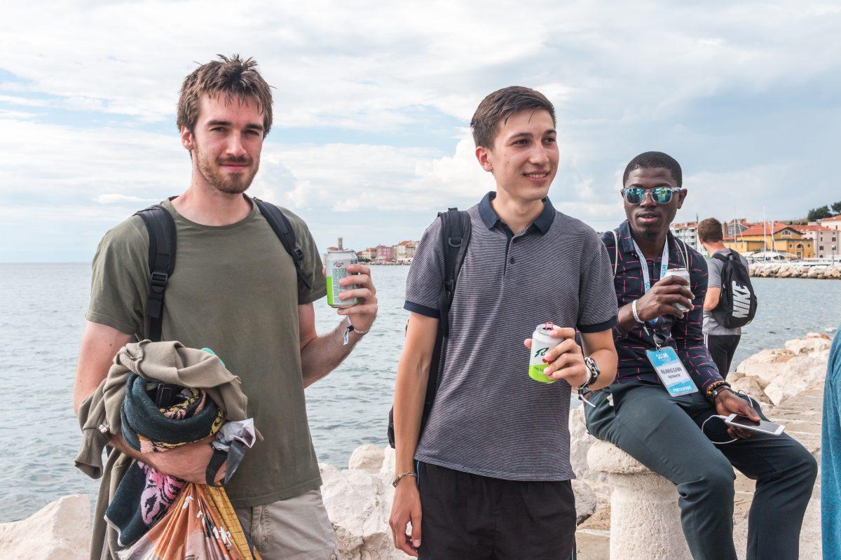 SCiM 2018 obisk slovenske obale