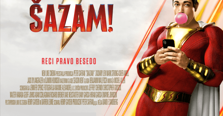 Shazam!, Shazam, film, recenzija, DC, Šazam