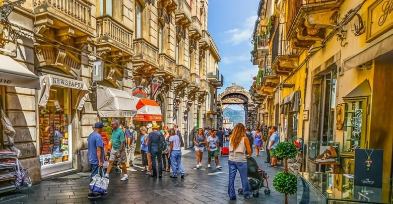 Taormina Sicilija - Italija