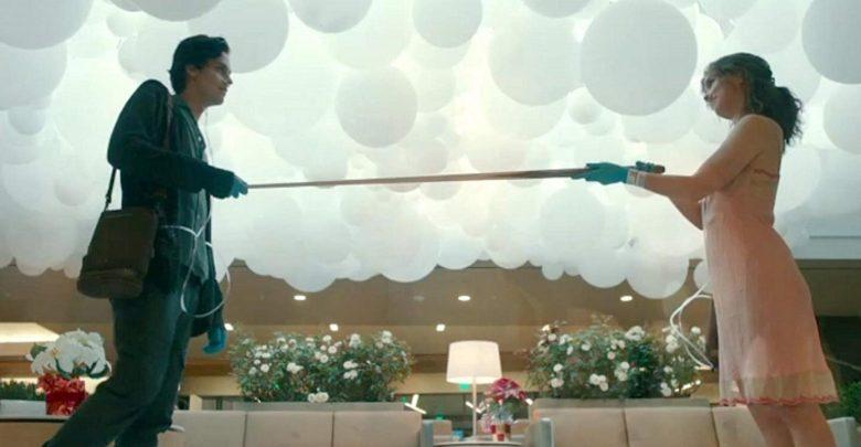 Brez dotika, film, recenzija, Five Feet Apart