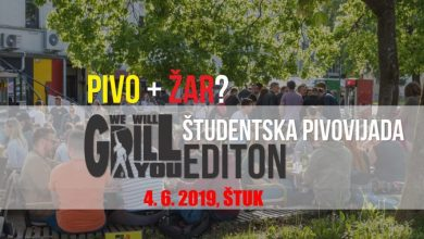 Photo of Študentska Pivovijada: Wewillgrillyou editon