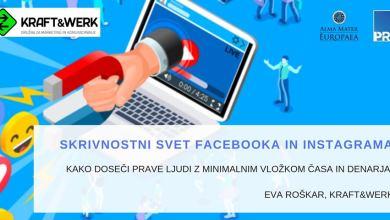 Photo of Skrivnostni svet Facebooka in Instagrama