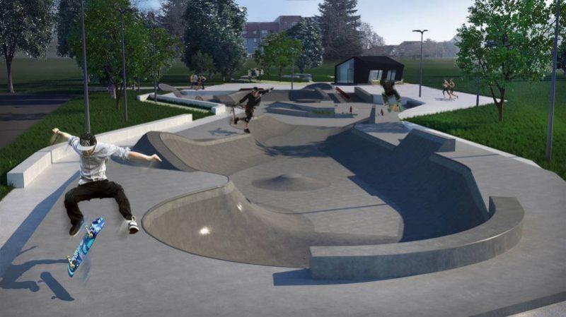 Skate park, Mestna občina Maribor, Maribor, rolkanje, Luka Pen, Maribor ZA Sk8park, rolkanje
