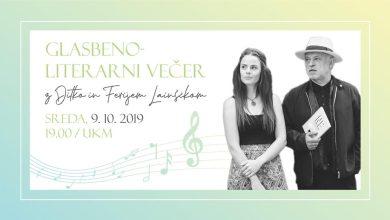 Photo of Glasbeno-literarni večer | Ditka in Feri Lainšček