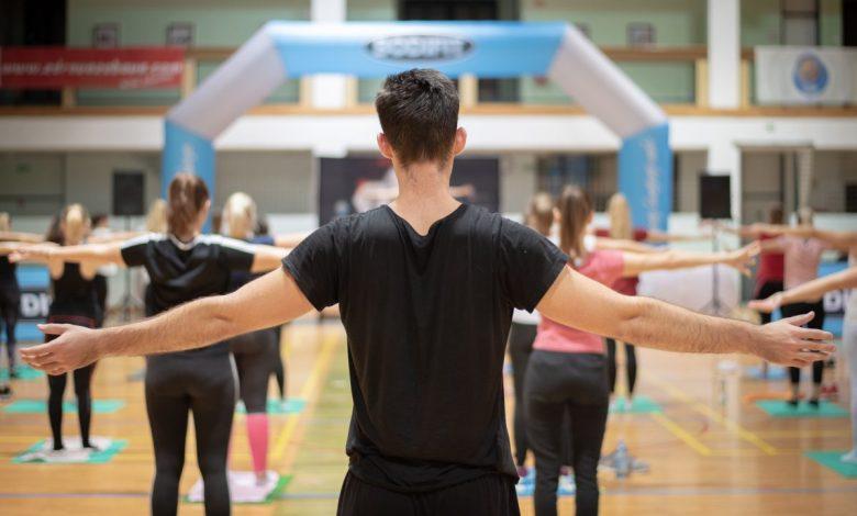 Zdrava zabava, Bodifit, vadba, skupna vadbe, vaje, vadbe, skupne vadbe, vodena vadba, vodene vadbe, UŠC Leona Štuklja, šport v Mariboru, maraton vadbe, telovadba, maraton aerobike, Shape TNZ, SUSA, Slovenska univerzitetna športna zveza, igor lukšič, burn hiit, fusion balance,
