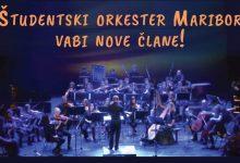 Photo of Študentski orkester Maribor v svoje vrste vabi nove člane