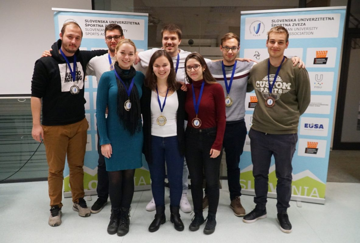 Najboljši študenti šahisti, šah, dup, državno univerzitetno prvenstvo, UL, Univerza v Ljubljani