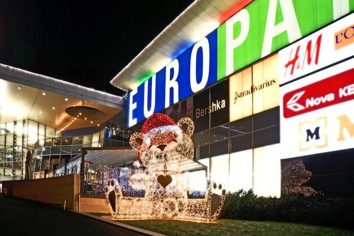 Božiček, Europark