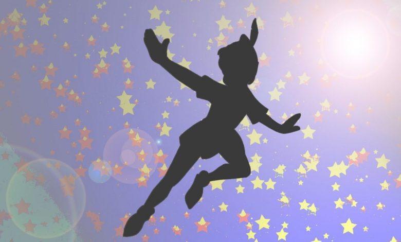 Peter Pan, rokopis, Barrie, J. M. Barrie, Neverland,
