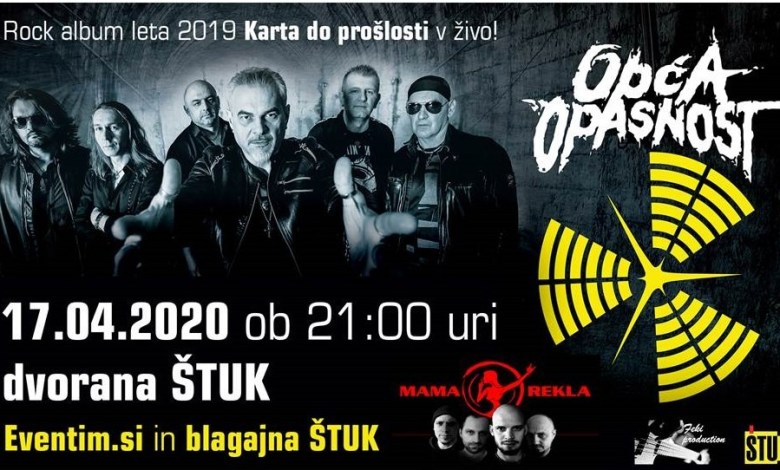 Koncert OPĆA Opasnost, Štuk, Maribor,