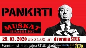 Koncert Pankrti, Štuk, Maribor,