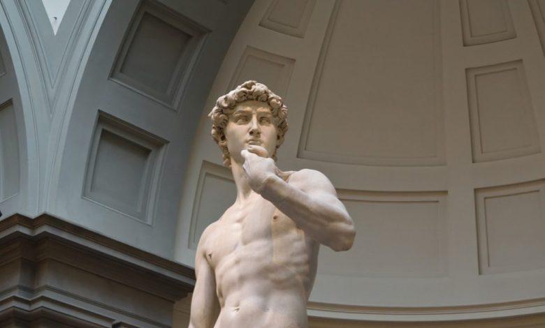 Michelangelo, david, kip, anatomija, Skulptura,
