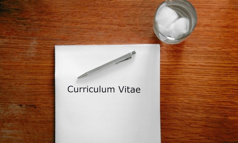 CV, motivacijsko pismo