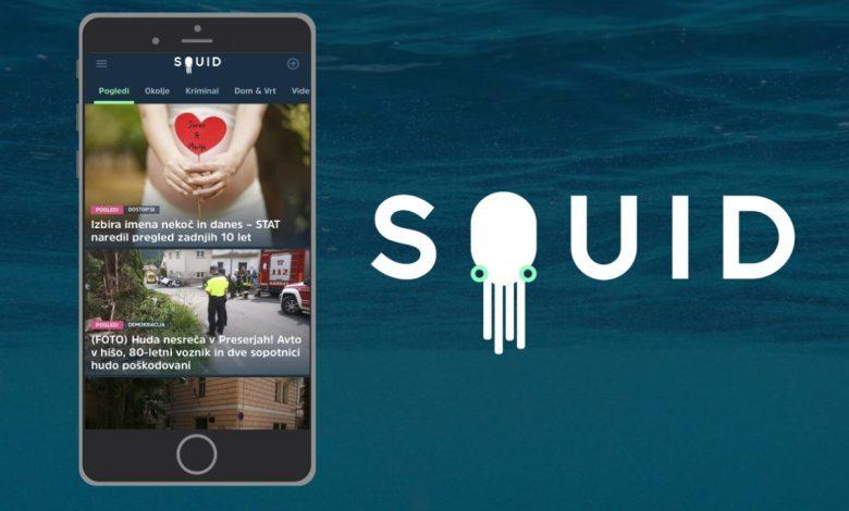 SQUID, aplikacija