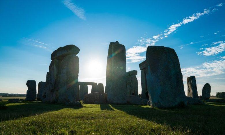 Stonehenge, VB, Velika Britanija, St Andrews, odkritje,