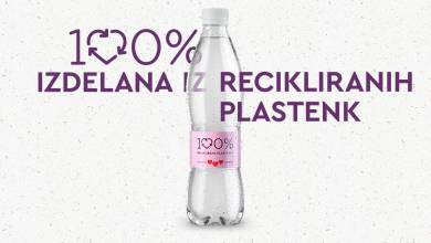 Photo of Nova plastenka Radenske Naturelle iz 100-odstotno reciklirane PET plastike