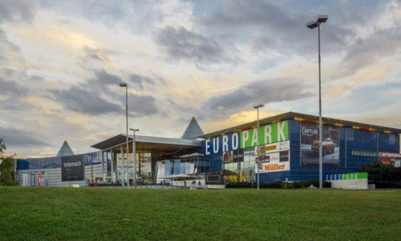 europark, nakupovalna središča, trgovine, odpiralni čas,