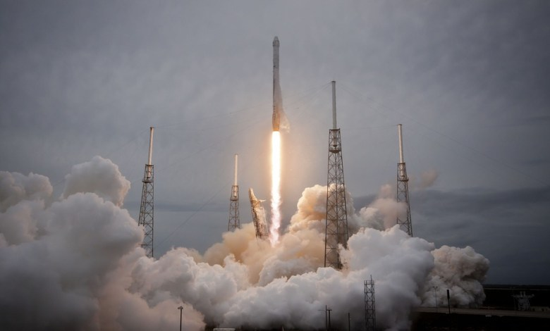 spaceX, iss, falcon, nasa,