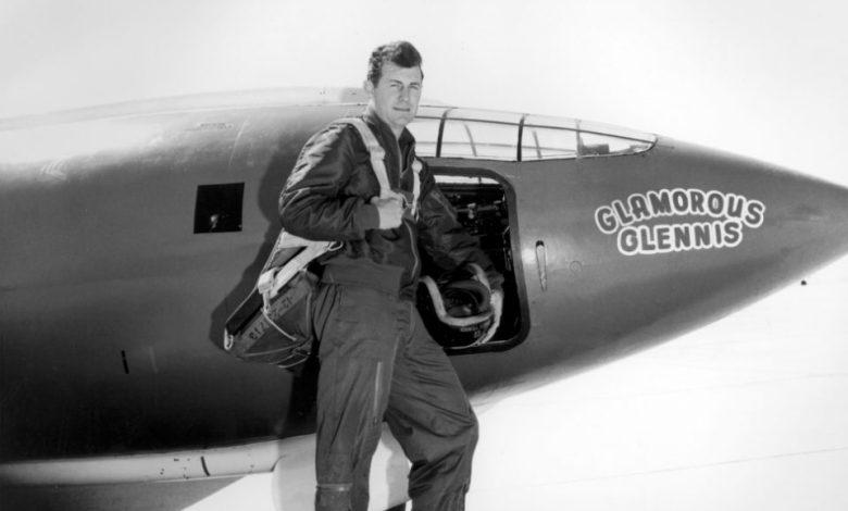 Chuck Yeager, pilot, zvočni zid, covid-19, koronavirus, zda, Bell X-1, rip, r.i.p., Preboj zvočnega zid, 14. oktobra 1947, 14. oktober