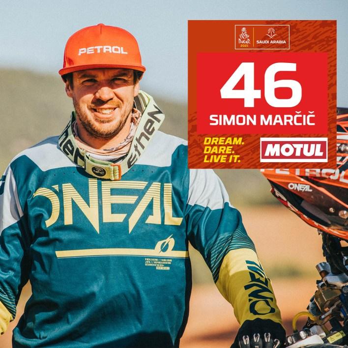 Dakar 2021 Simon Marcic