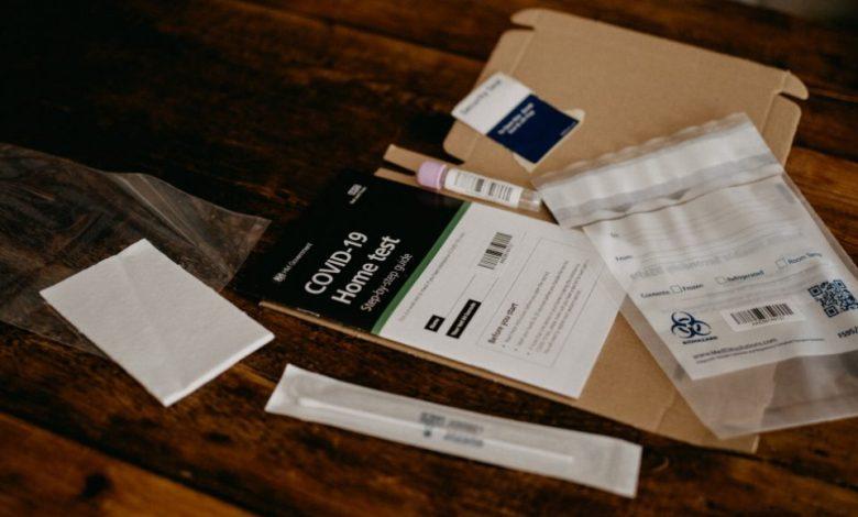 teste na okužbo, test, covid-19,