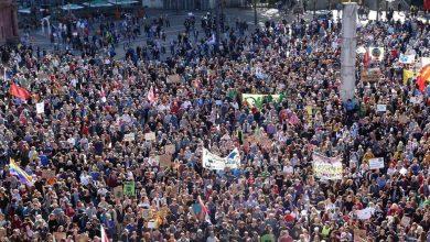 Photo of Na študentskih protestih več aretacij