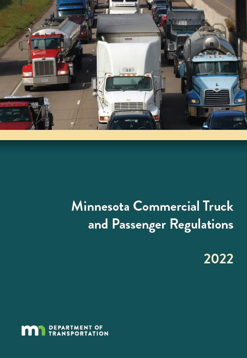 MN Truck Book MnDOT Commercial Vehicle Operations