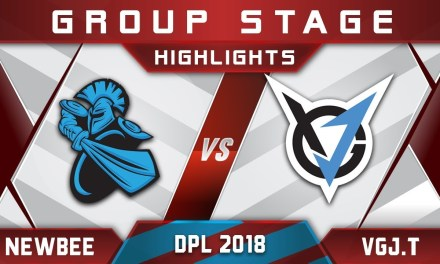 Newbee vs VGJ.Thunder DPL 2018 Highlights Dota 2
