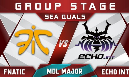Fnatic vs Echo Int – New Roster Debut! MDL Major 2018 Changsha SEA Highlights Dota 2