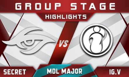 Secret vs IG.Vitality MDL Changsha Major 2018 Highlights Dota 2
