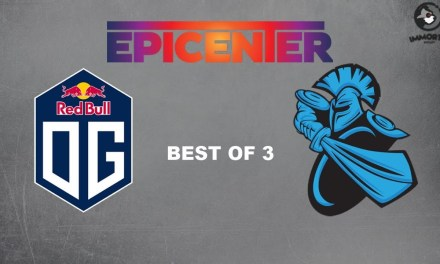 OG vs Newbee | Group Stage Bo 3 Game 1 | Epicenter 2018