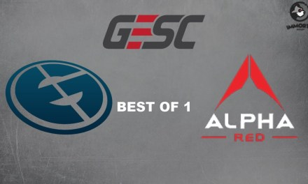 EG vs Alpha-Red | Group Stage Bo 1 | GESC Thailand Dota2 Minor