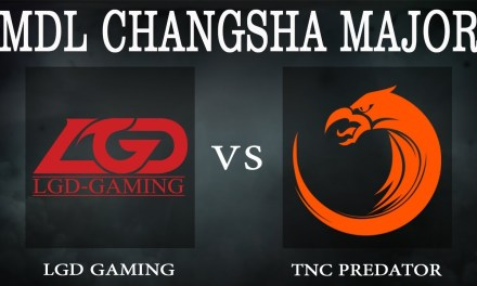 PSG.LGD vs TNC game 1 – MDL Changsha Major, Lower Bracket R2 – Dota 2