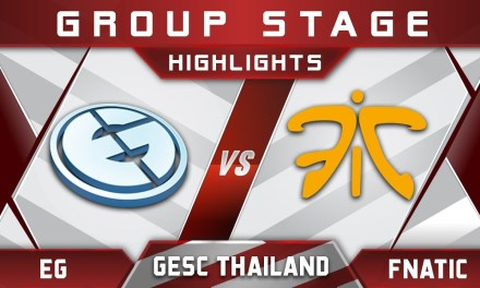 EG vs Fnatic GESC Thailand 2018 Minor Highlights Dota 2