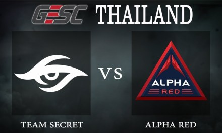 Secret vs Alpha Red bo1 – GESC Thailand, Group Stage Day 2 – Dota 2