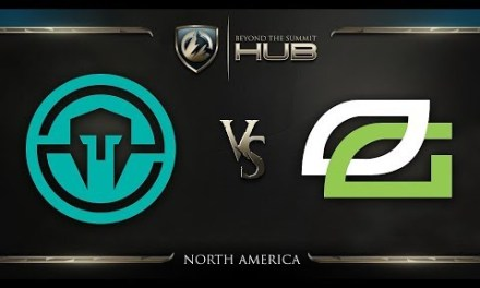 Immortals vs OpTic Gaming Game 1 – TI8 North America Qualifiers: Losers' Finals