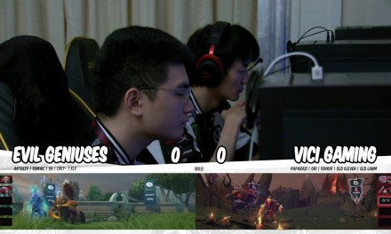 Vici Gaming vs Evil Geniuses Game 1 | China Dota 2 Supermajor Group Stage Day 1
