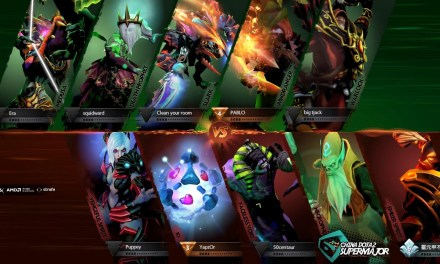 Team Secret vs The Final Tribe Game 1 | China Dota 2 Supermajor Group Stage Day 2