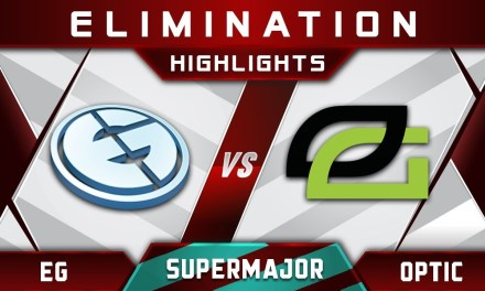 EG vs OpTic Elimination China Supermajor 2018 Highlights Dota 2