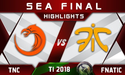 TNC vs Fnatic TI8 SEA Final The International 2018 Highlights Dota 2