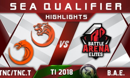 TNC / TNC.Tigers vs BAE Battle Arena – TI8 The International 2018 SEA Highlights Dota 2