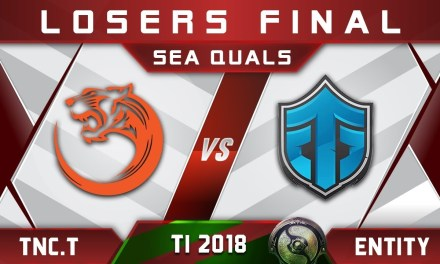 TNC.Tigers vs Entity TI8 LB Final SEA The International 2018 Highlights Dota 2