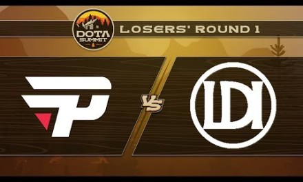 paiN vs Let's Do It Game 3 – DOTA Summit 9: Losers' Round 1