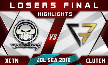 Execration vs CG Losers Final joinDOTA League SEA 2018 Highlights Dota 2
