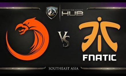 TNC Pro Team vs Fnatic Game 1 – TI8 SEA Regional Qualifiers: Winners' Finals