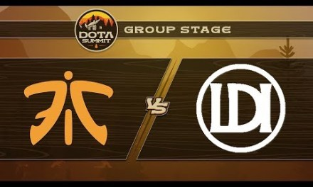 Fnatic vs Let's Do It Game 2 – DOTA Summit 9: Group Stage