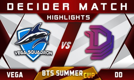 4v5 Vega vs DD [EPIC] – BTS Summer Cup 2018 Highlights Dota 2