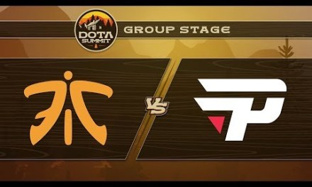 Fnatic vs paiN Game 1 – DOTA Summit 9: Group Stage